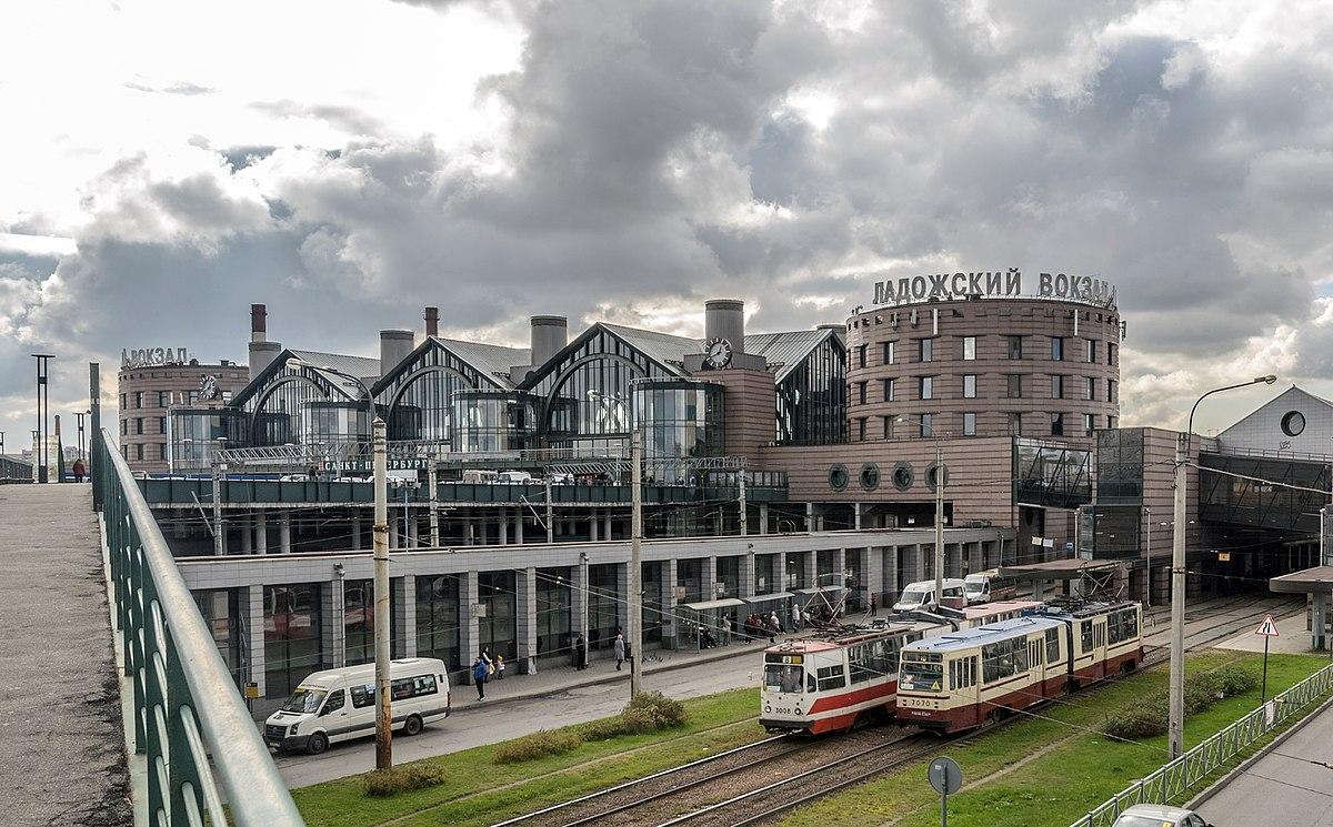 Ладожский вокзал СПб