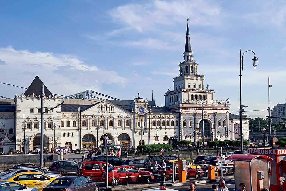 Картинки вокзала москвы