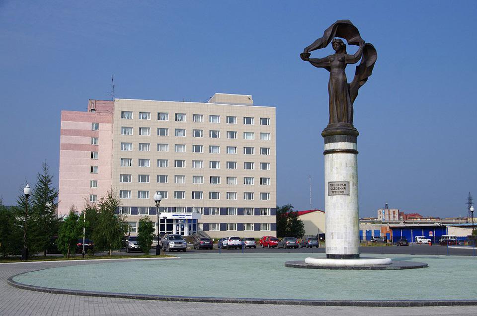 Памятник пионерам освоения