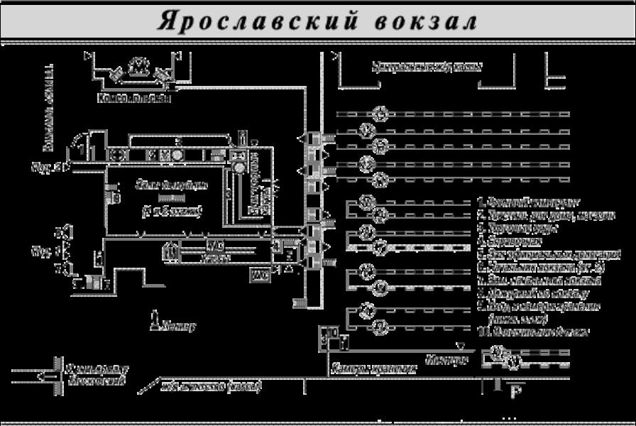 Ярославский. Схема
