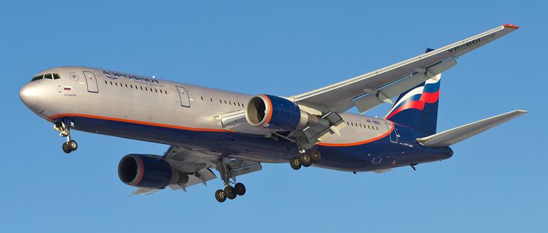 Фото самолета Боинг767-300.
