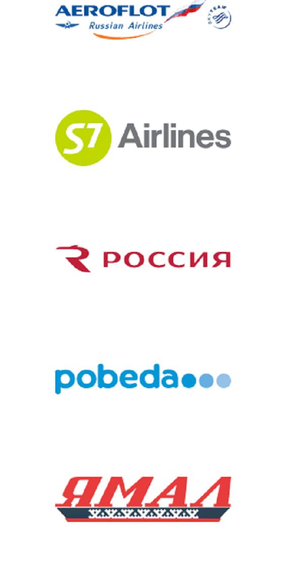 Названия авиакомпаний