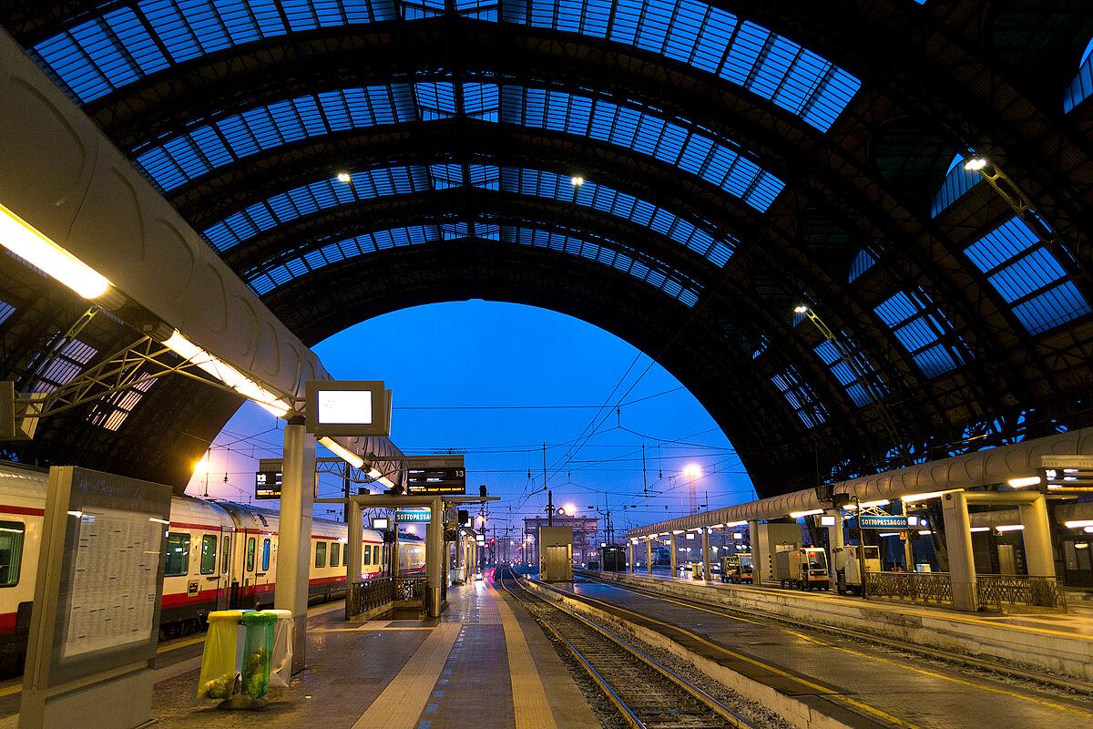 Перрон вокзала Санта-Лючия