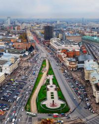Площадь трех вокзалов (Москва) - какие вокзалы расположены