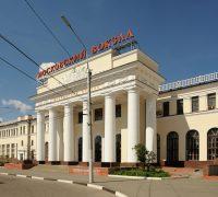 Центральный вход Московского вокзала