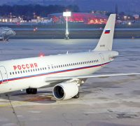 Самолеты авиакомпании Россия