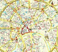 ЖД вокзалы Москвы на карте города