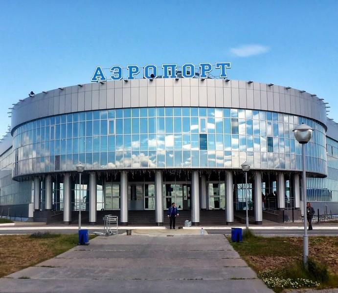 Как выглядит аэропорт Салехард
