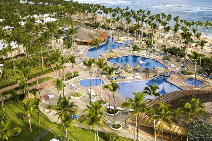 Доминиканская республика на карте мира на русском языке, карта курортов