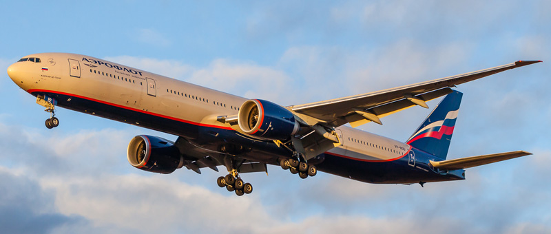 Салон самолета боинг 777 300 аэрофлот