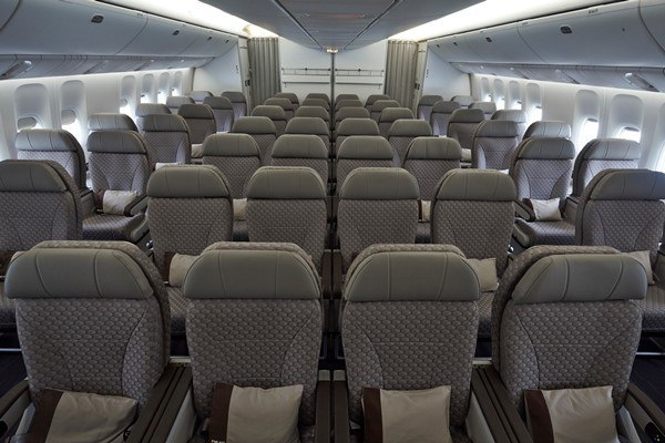 Фото комфорт-класса Boeing 777-300ER Nordwind Аirlines