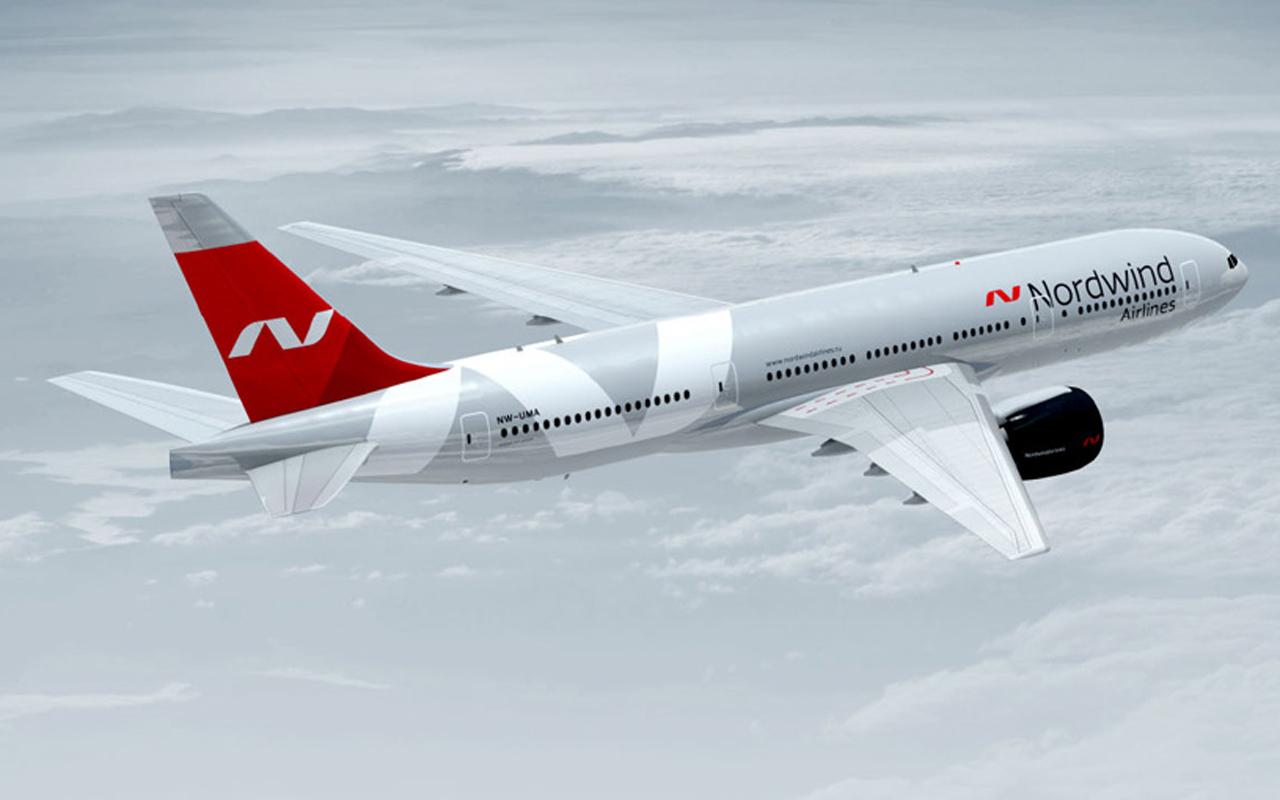 Самолет Boeing 777-300ER Nordwind Airlines