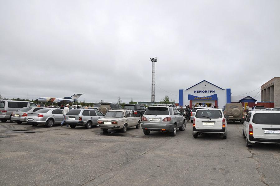 Парковка аэропорта Нерюнгри