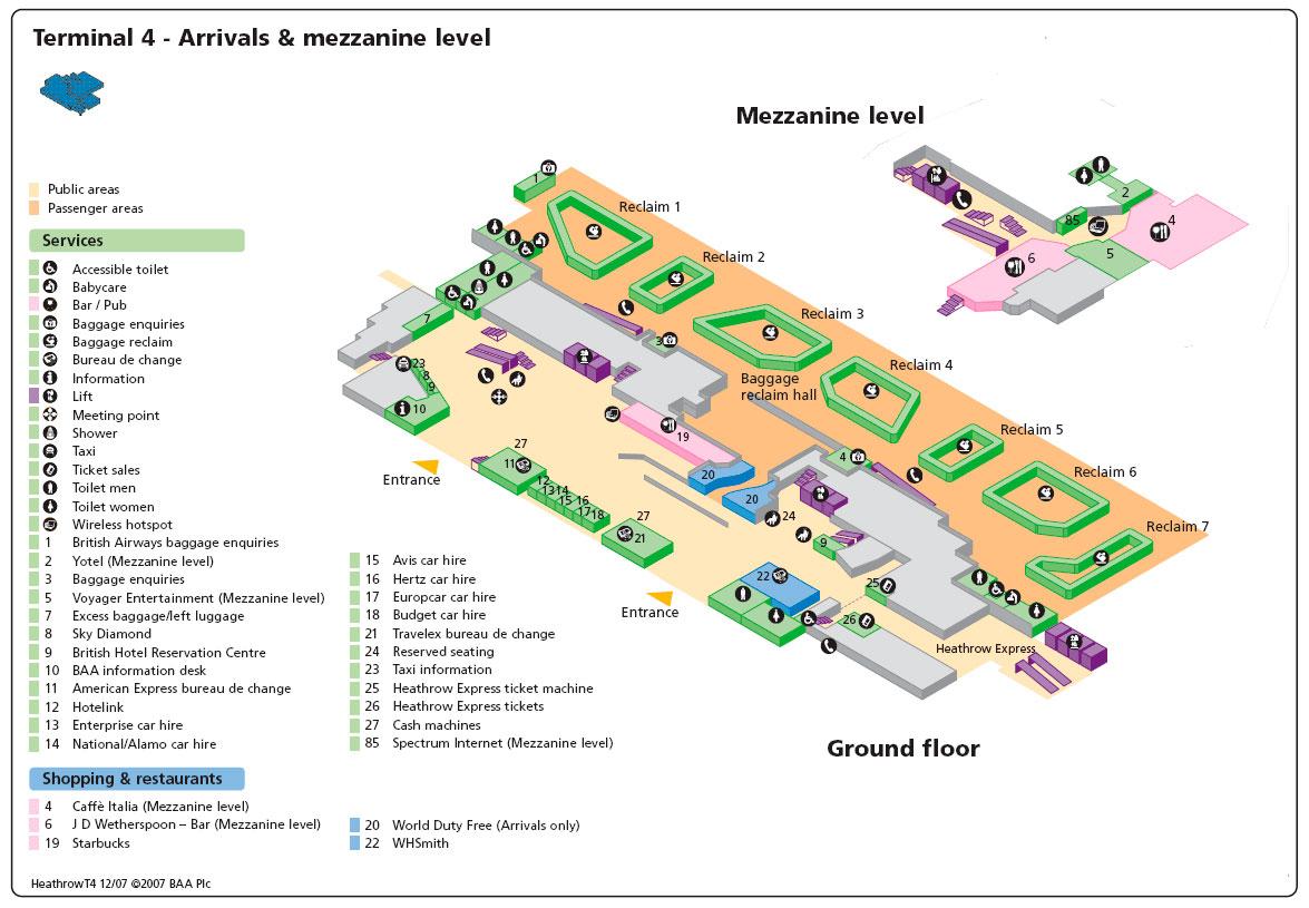 Схема терминал 4
