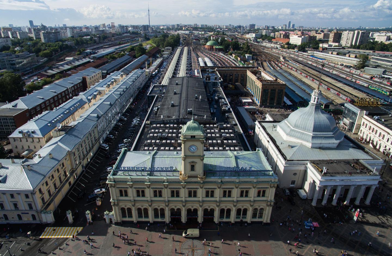 Фотографии московского вокзала в хорошем качестве