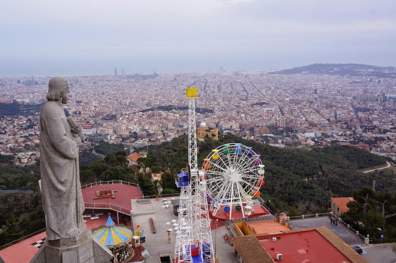 О горе Тибидабо: как добираться из Барселоны в Храм Святого Сердца