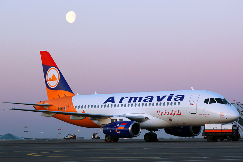 Армения самолет картинка