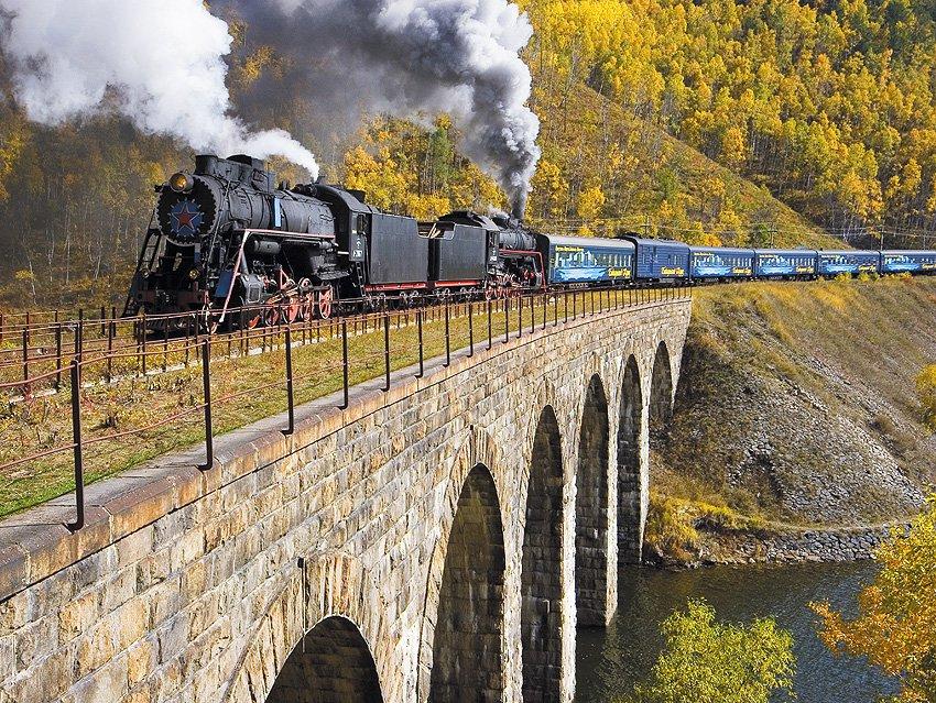 увеличенный кругобайкальская железная дорога картинки работает