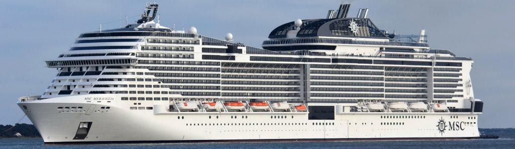 Круизный лайнер MSC Meraviglia
