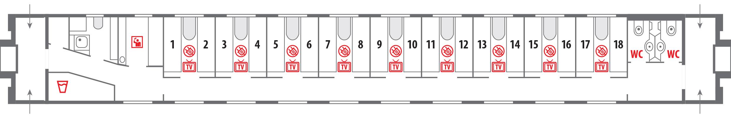 Аварийные окна в плацкартном вагоне схема фото 7