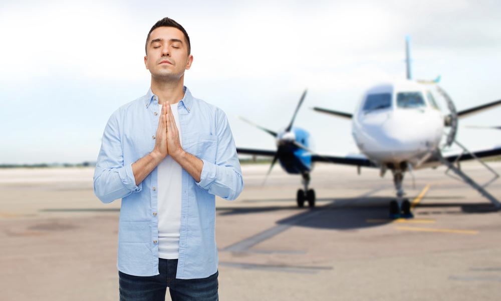 Молитва при полетах на самолете