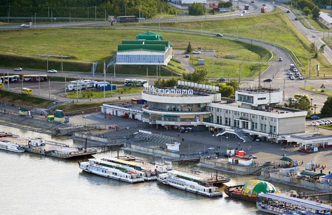 один фото барнаул речной вокзал территории