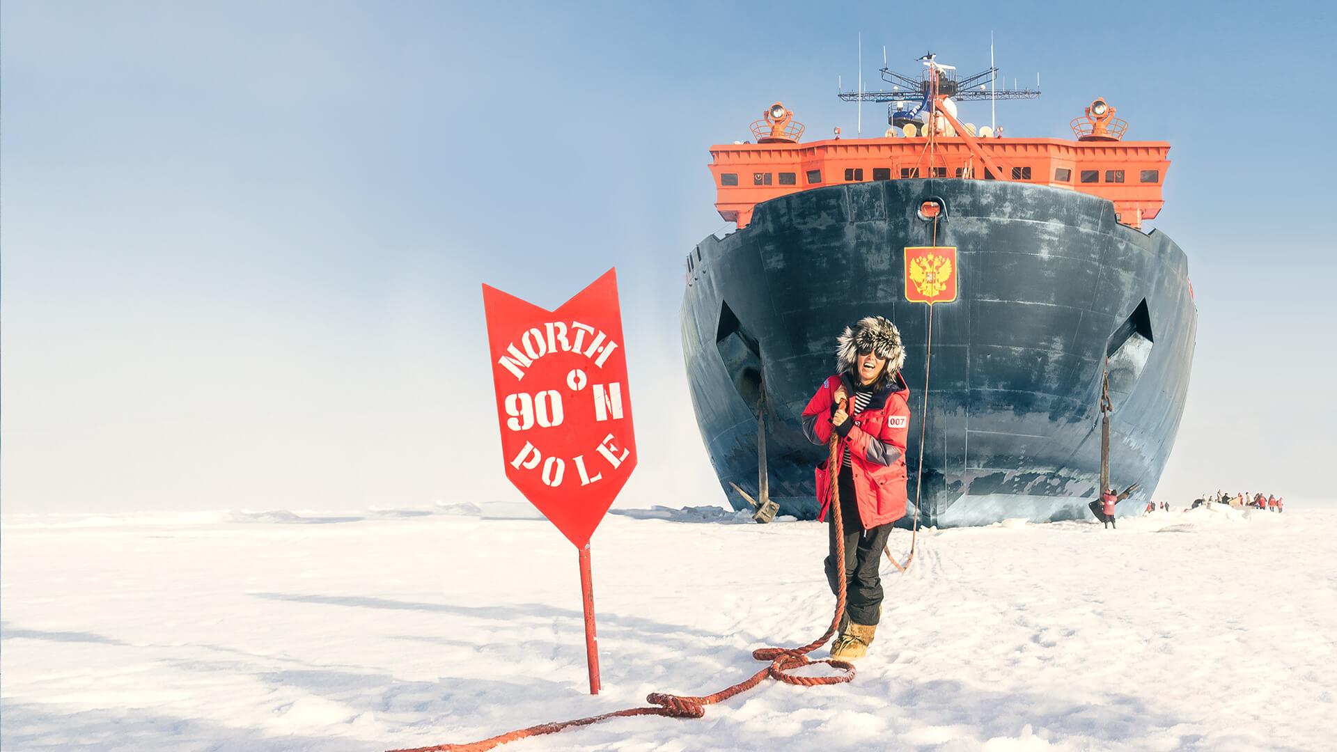 Тур на Северный полюс как отправиться в путешествие особенности экскурсии цена круиза