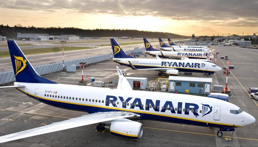 Авиакомпания Ryanair сократит 3000 рабочих мест