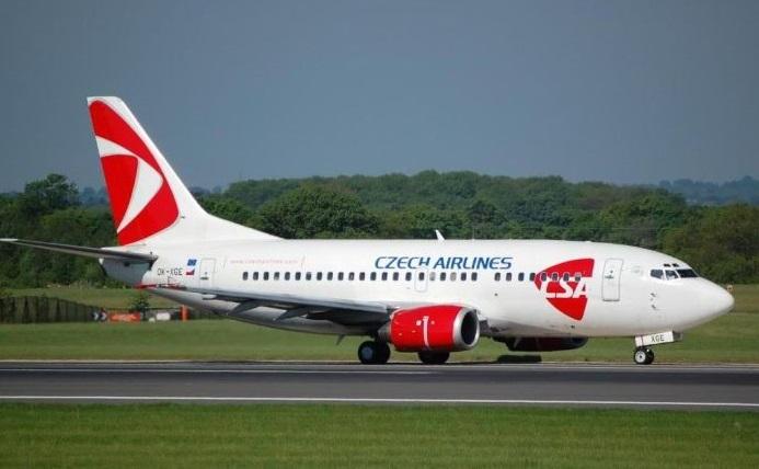 Чешская авиакомпания Czech Airlines