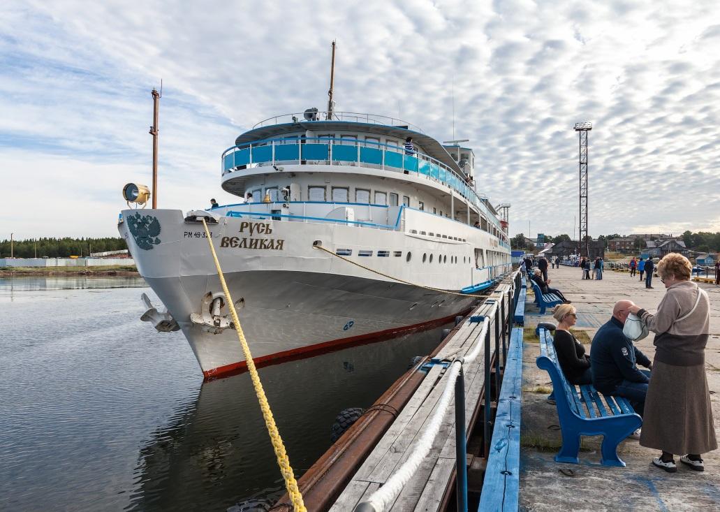 Посадка пассажиров в Москве