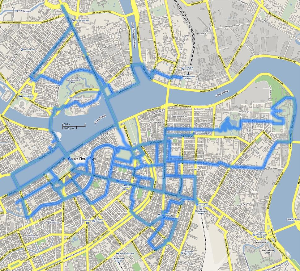 мозг карта с фотографиями улиц спб доме