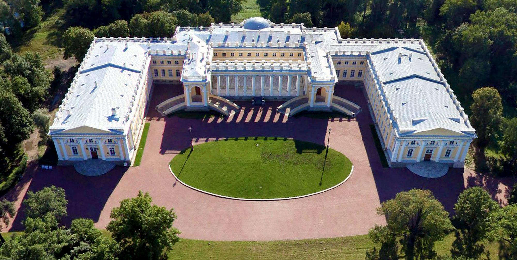 Александровский дворец в Царском селе Фото внутри снаружи история режим работы экскурсии