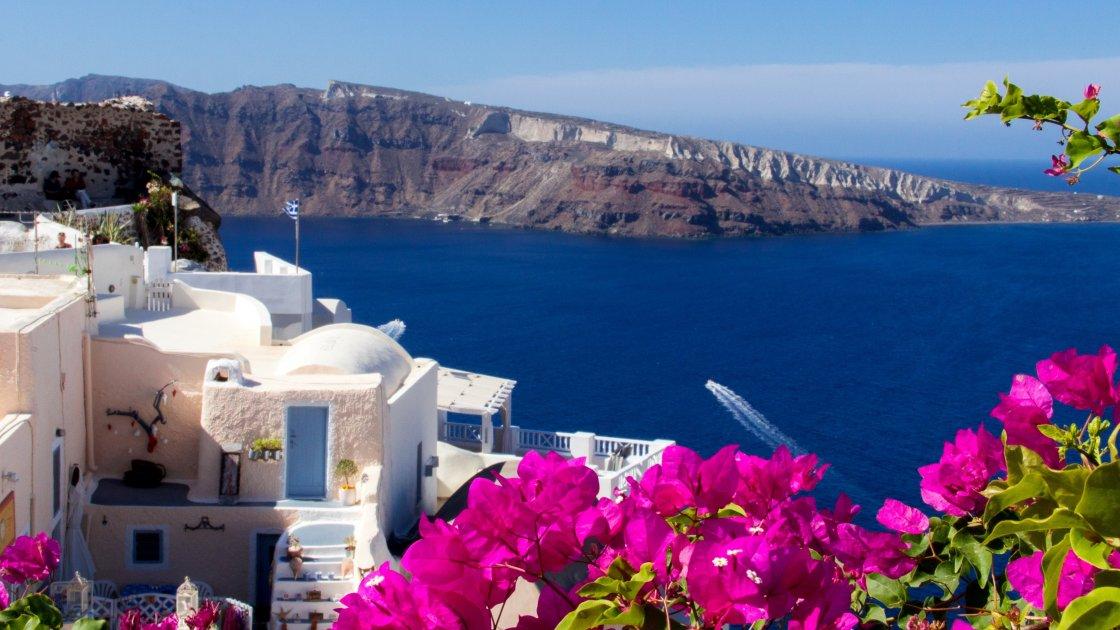 Санторини Достопримечательности фото и описание острова на карте что посмотреть в Греции туристу