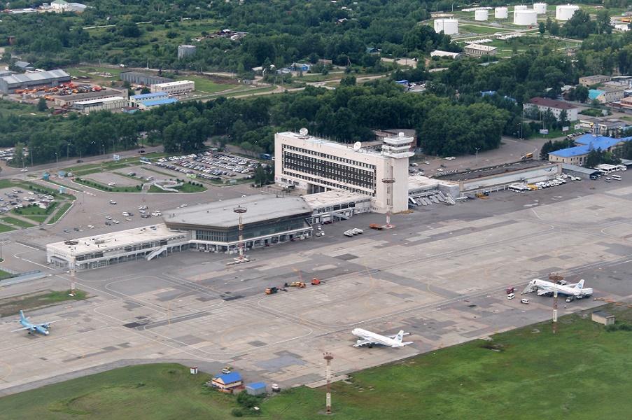Картинка аэропорт хабаровск