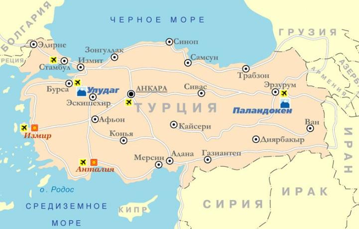 Бурса Турция Достопримечательности на карте фото что посмотреть самостоятельно