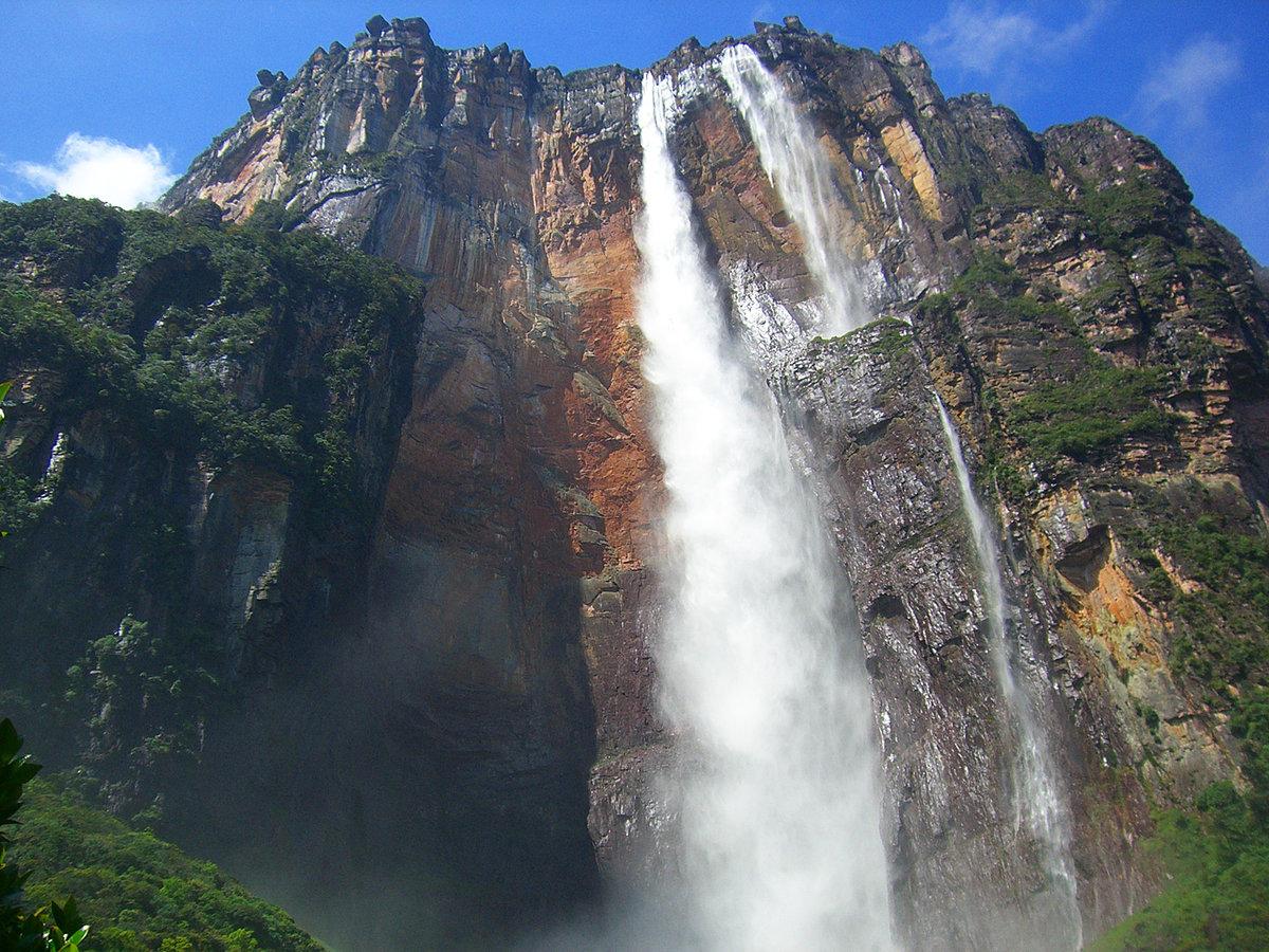 необычные водопады мира фото что